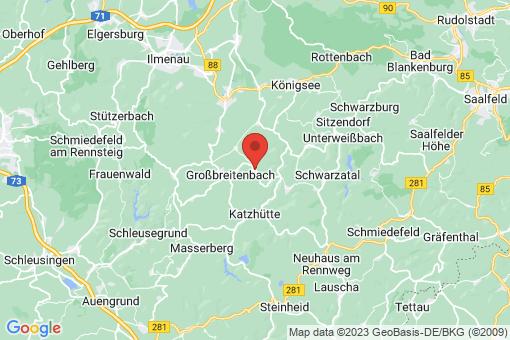 Karte Böhlen