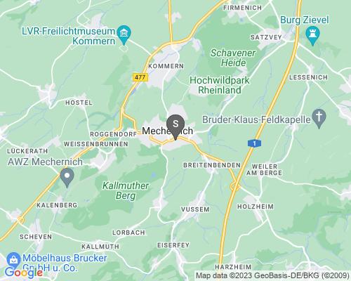 Google Karte von Schlüsseldienst Mechernich