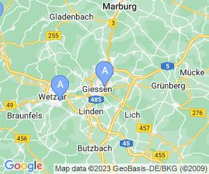 Karte für Kletterbunker Gießen
