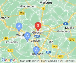 Karte für Hallenbad Ringallee Gießen