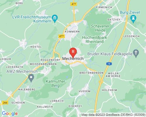 Google Karte von Rohrreinigung Mechernich