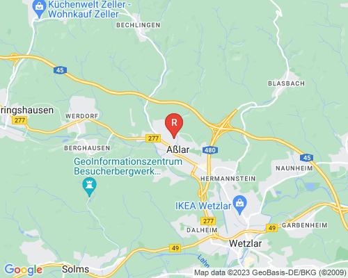 Google Karte von Rohrreinigung Aßlar