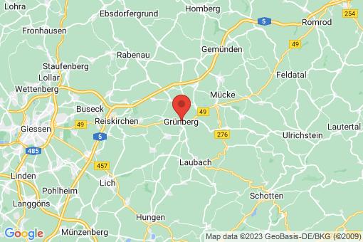 Karte Grünberg