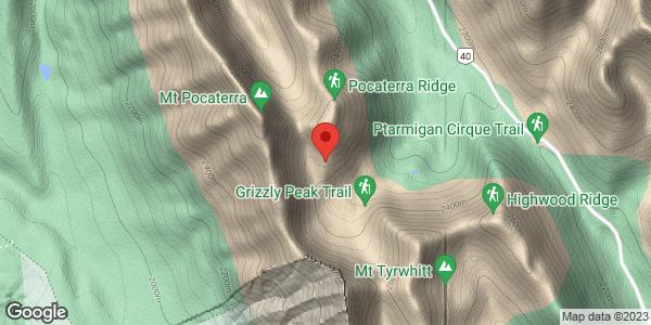 Pocaterra Ridge Area