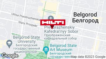 Get directions to Региональный представитель Hilti в г. Белгород