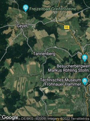 Google Map of Tannenberg