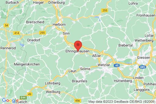 Karte Ehringshausen