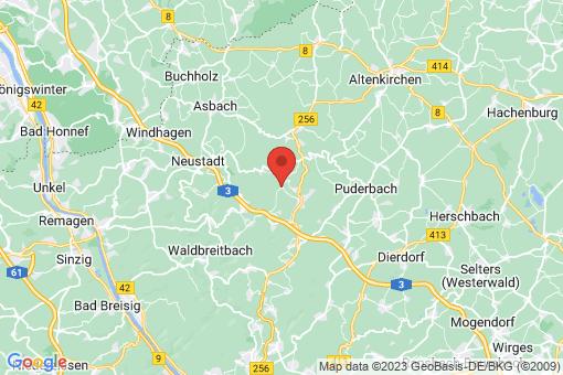 Karte Niedersteinebach