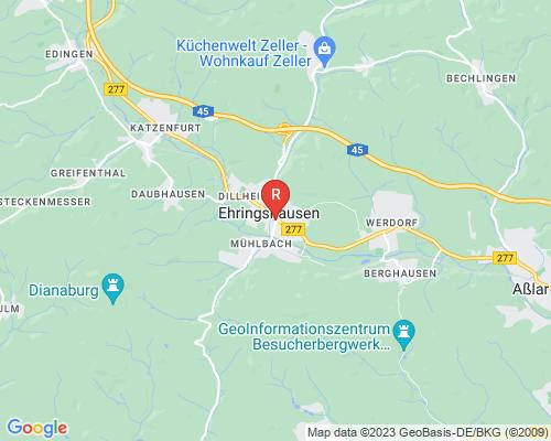 Google Karte von Rohrreinigung Ehringshausen