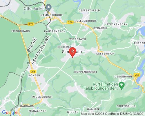 Google Karte von Rohrreinigung Simmerath