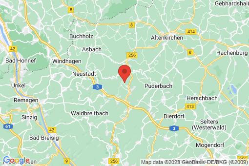 Karte Bürdenbach