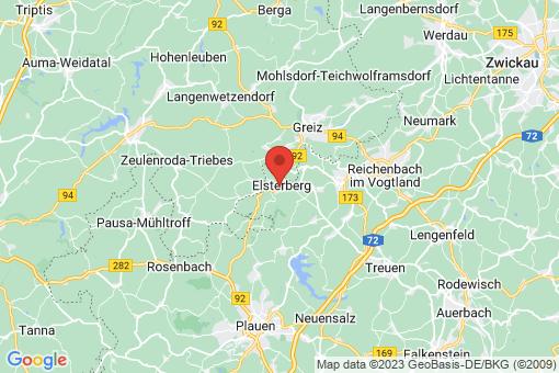 Karte Elsterberg