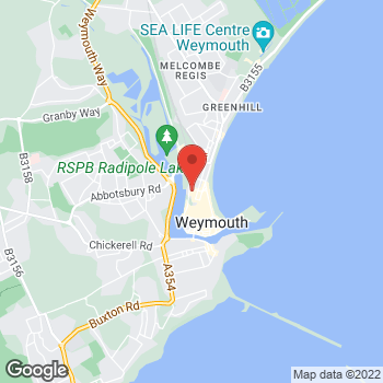 Map of wilko Weymouth at 10/12 Westham Road, Weymouth,  DT4 8NP