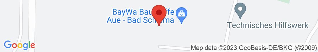BayWa Baustoffe Aue/Sachsen Anfahrt