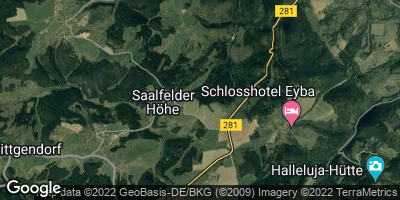 Google Map of Saalfelder Höhe