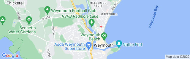 Map Of Weymouth
