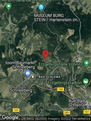 Google Map of Bad Schlema