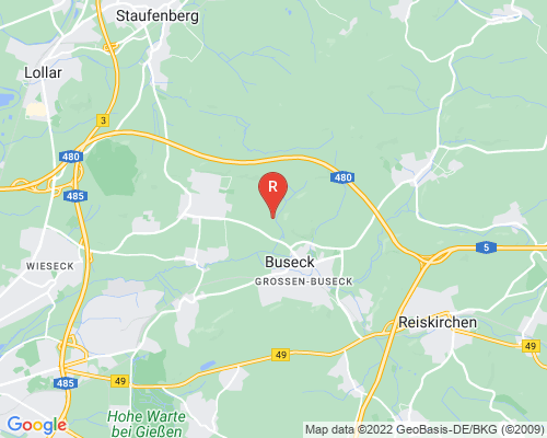 Google Karte von Rohrreinigung Buseck