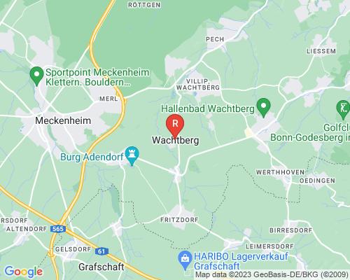 Google Karte von Rohrreinigung Wachtberg