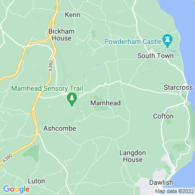 Mamhead Location