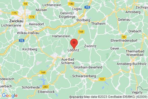 Karte Lößnitz