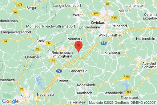 Karte Heinsdorfergrund