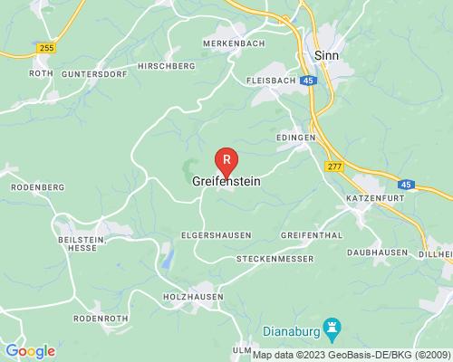 Google Karte von Rohrreinigung Greifenstein