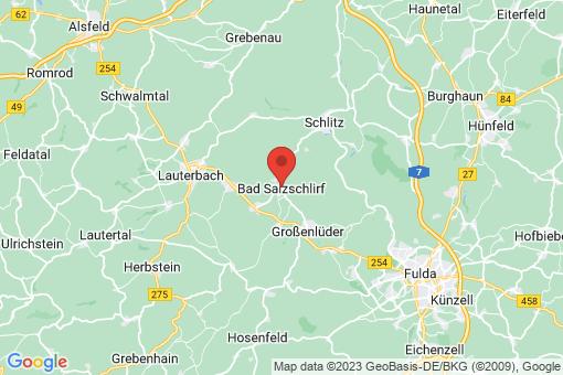Karte Bad Salzschlirf
