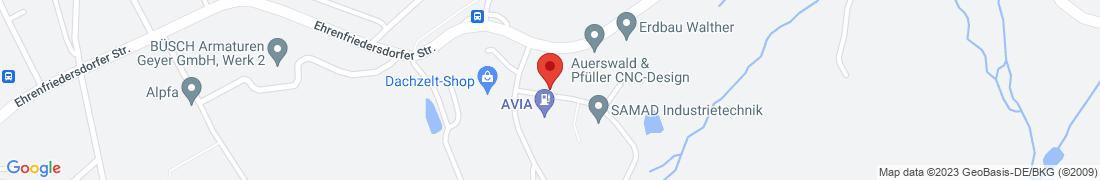 BayWa Tankstelle Geyer/Sachsen Anfahrt