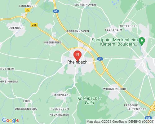 Google Karte von Rohrreinigung Rheinbach