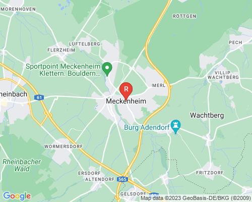 Google Karte von Rohrreinigung Meckenheim