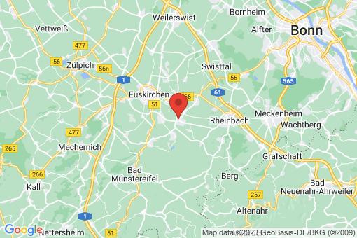 Karte Euskirchen