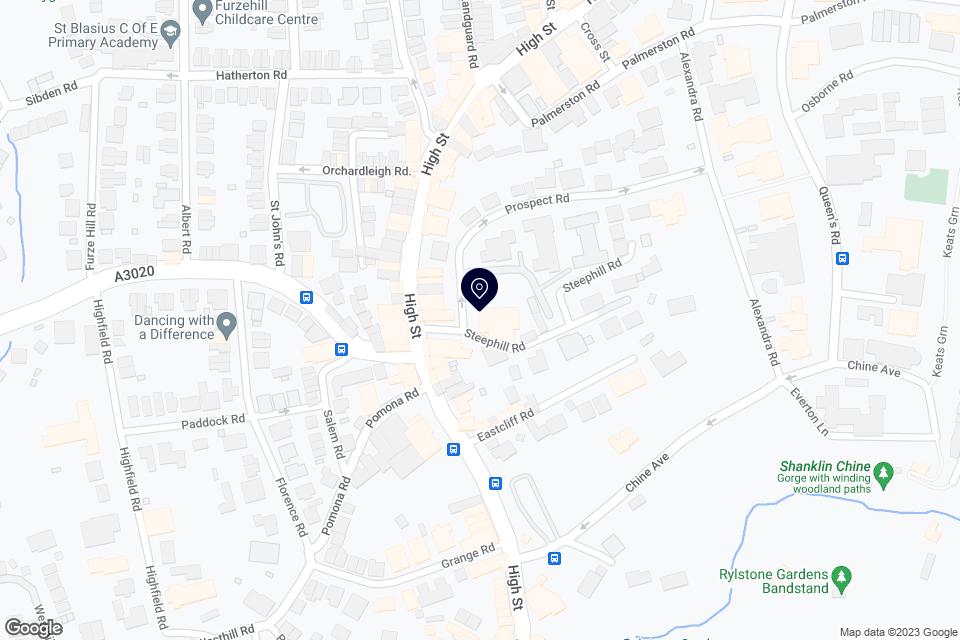 Prospect Road, Shanklin, PO37 6AJ map