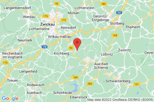 Karte Langenweißbach Weißbach