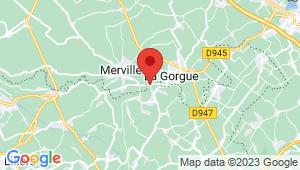 Carte de localisation du centre de contrôle technique LESTREM