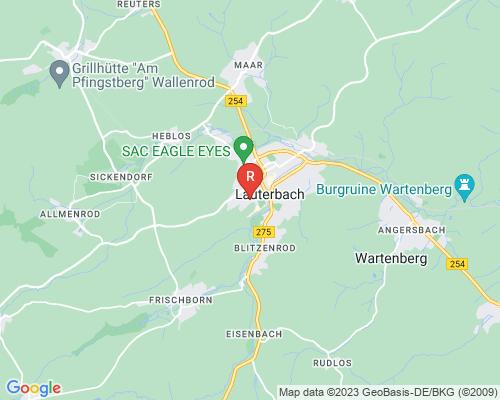 Google Karte von Rohrreinigung Lauterbach