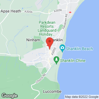 Map of The Co-operative Funeralcare at 76 Regent Street, Shanklin, Isle Of Wight PO37 7AP
