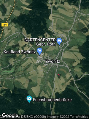 Google Map of Zwönitz