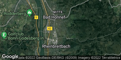 Google Map of Bad Honnef