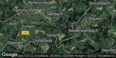 Google Map of Seifen bei Flammersfeld