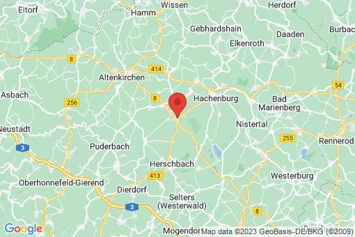 Karte Höchstenbach