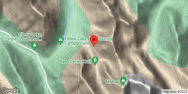 Rae Glacier area