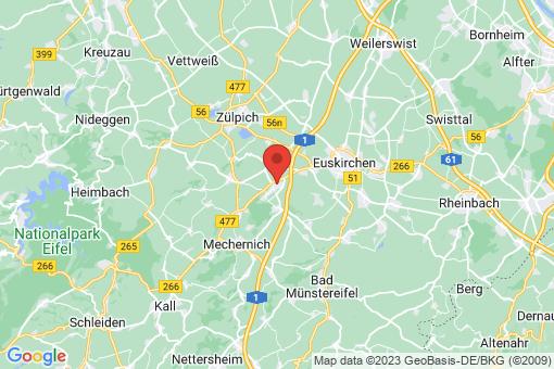 Karte Mechernich