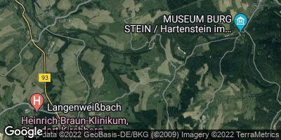 Google Map of Langenweißbach