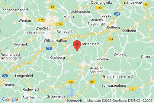 Karte Langenweißbach