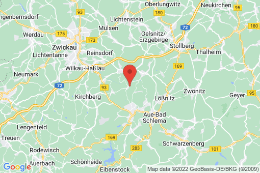 Karte Langenweißbach Langenbach
