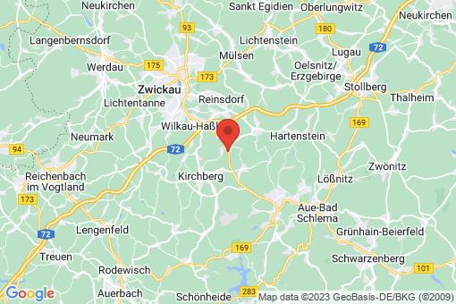 Karte Wildenfels Wiesenburg