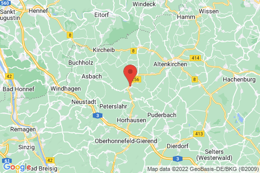 Karte Flammersfeld