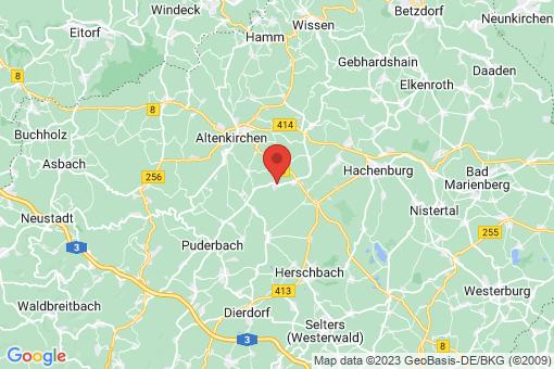 Karte Berod bei Höchstenbach
