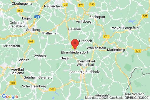 Karte Ehrenfriedersdorf